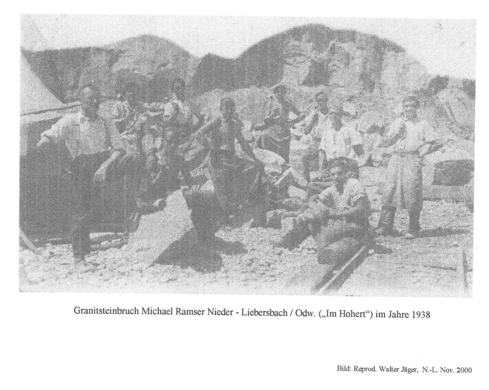 steinbrüche | liebersbach.wiki