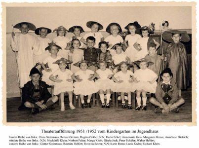 Kindergarten 1951 / 1952