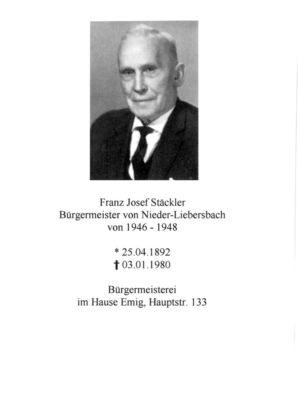 Bürgermeister 1946 - 1948 Seite 01