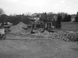 Deutsches Haus Abriss