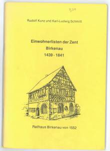 Einwohnerlisten Birkenau Teil 2 Seite 01