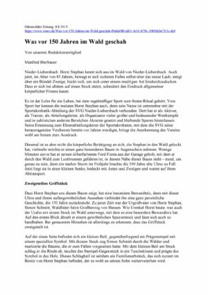Horst Stephan Am Hölzerlips-Stein Seite 1