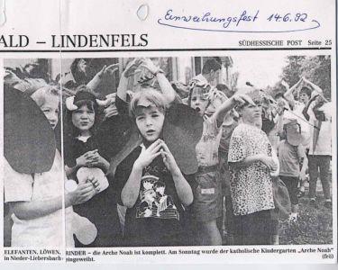 Kindergarten 1992