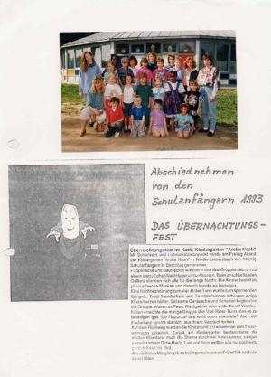 Kindergarten 1993