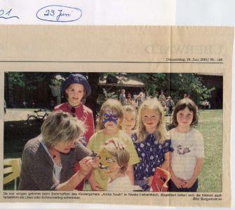 Kindergarten 2001