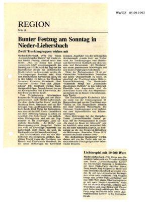 Kerweverein Zeitungsartikel Seite 15