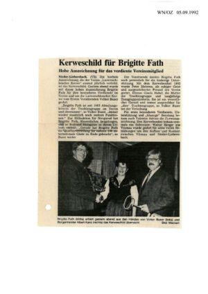 Kerweverein Zeitungsartikel Seite 16