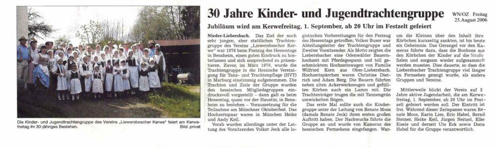 Kerweverein Zeitungsartikel Seite 18