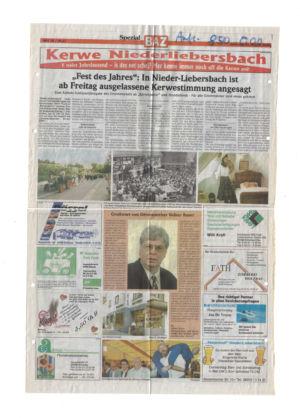 Kerweverein Zeitungsartikel Seite 19
