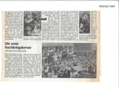 Kerweverein Zeitungsartikel Seite 01