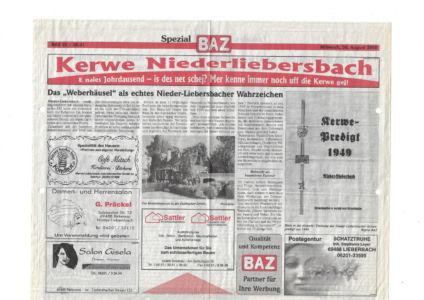 Kerweverein Zeitungsartikel Seite 20
