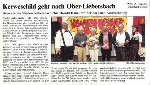 Kerweverein Zeitungsartikel Seite 21