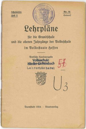 Lehrpläne 1924 S. 02