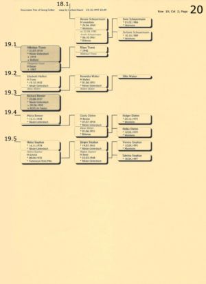 Stammbaum Gräber 20