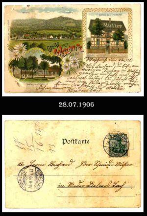 Post nach Liebersbach, Postkarte 10