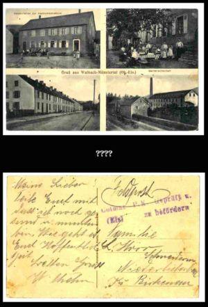 Post nach Liebersbach, Postkarte 11