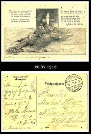 Post nach Liebersbach, Postkarte 12