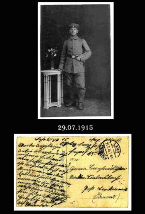 Post nach Liebersbach, Postkarte 13