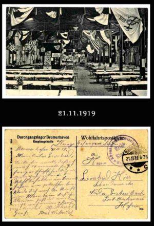 Post nach Liebersbach, Postkarte 2