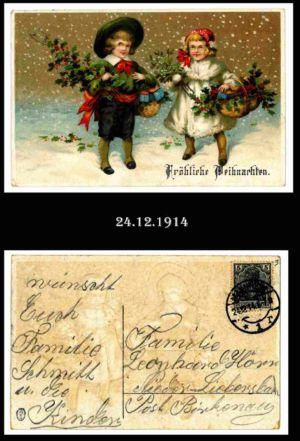 Post nach Liebersbach, Postkarte 3