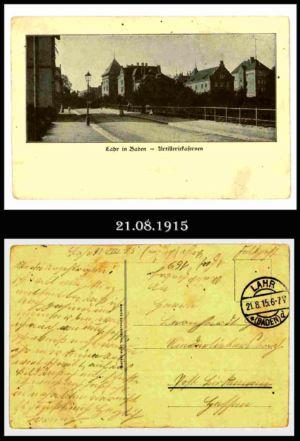 Post nach Liebersbach, Postkarte 5