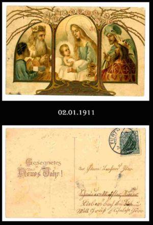 Post nach Liebersbach, Postkarte 6