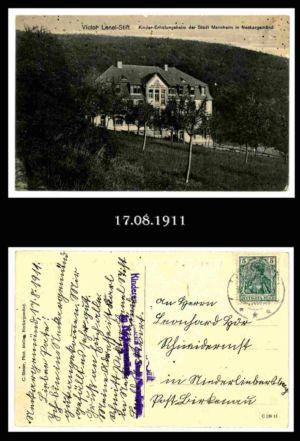 Post nach Liebersbach, Postkarte 7
