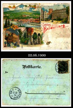 Post nach Liebersbach, Postkarte 8