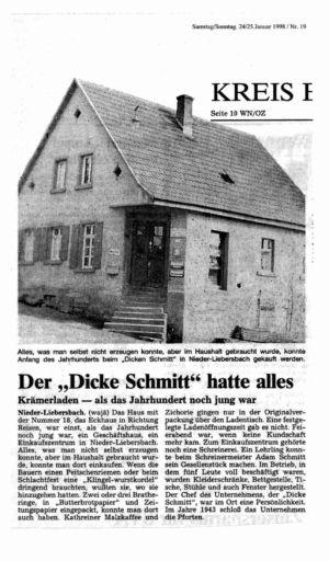 "Reisener Straße / Der ""Dicke Schmitt"", Nr. 1"
