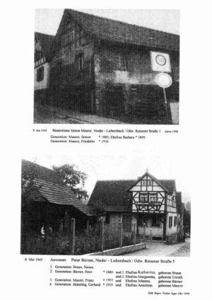Reisener Straße / Bauernhaus Simon Maurer, Nr. 3 / Anwesen Peter Bürner, Nr. 5