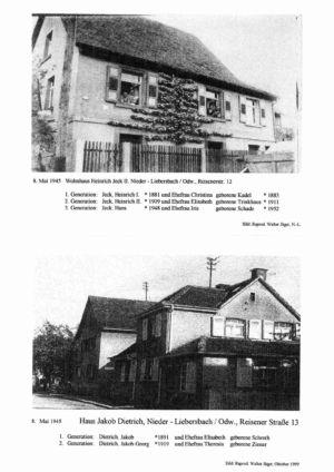 Reisener Straße / Wohnhaus Heinrich Jeck II, Nr. 12 /  Haus Jakob Dietrich, Nr. 13