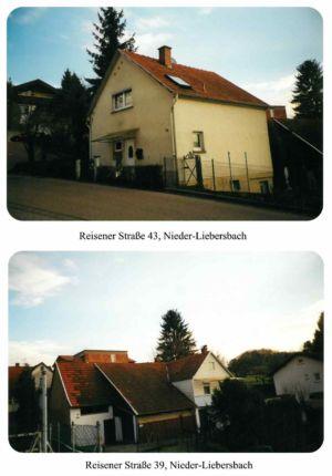 Reisener Straße / Haus Heinrich Kadel, Nr. 23 / Haus Peter Jeck,  J.,  Nr. 39