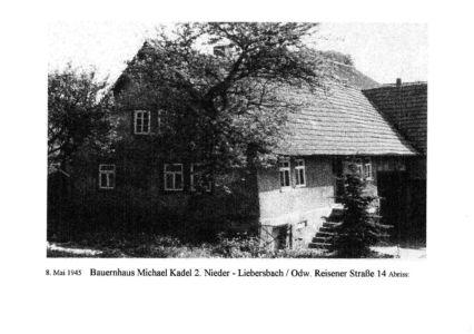 Reisener Straße / Haus Michael Kadel 2., Reisener Str. 14, Abriss