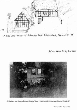 Reisener Straße / Bauernhof Johannes Fath, Nr. 32 / Wohnhaus und Garten, Johann Grünig, Nr. 25