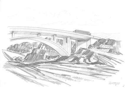 Skizzensammlung B38a Gerhard Rottermann