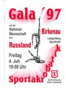 Sportakrobatik Gala 97 Seite 01