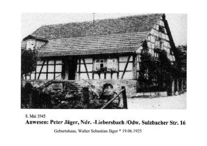 Sulzbacher Straße / Anwesen Jäger, Sulzbacher Str. 16