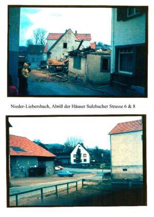 Sulzbacher Straße / Abriss der Häuser Sulzbacher Str. 6 & 8