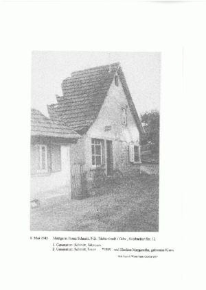 Sulzbacher Straße /  Metzgerei Franz Schmitt, Sulzbacher Str. 12