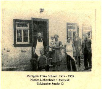 Sulzbacher Strasse / Metzgerei Schmitt, Sulzbacher Str. 12