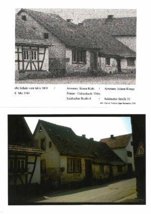 Sulzbacher Strasse /  Alte Schule /Anwesen Klein Sulzbacher Straße 8 / Anwesen Knapp Sulzbacher Straße 10