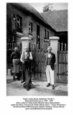 Sulzbacher Strasse / Bauernhof Kadel, Sulzbacher Str. 3