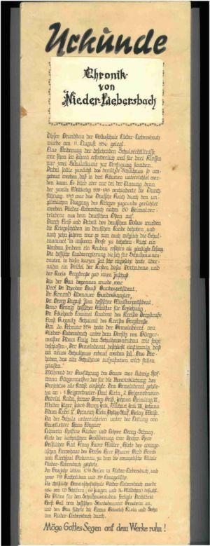 Urkunde Holztafel (Sammlung Walter Jäger)