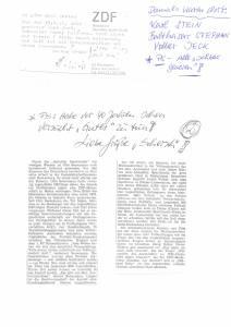 Zeitungsartikel Volker Jeck Seite 1