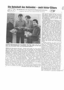 Zeitungsartikel Volker Jeck Seite 2