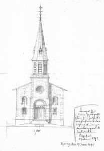 Kath. Kirche NL Vorderansicht