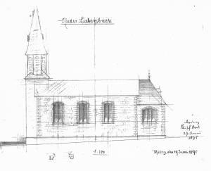 Kath Kirche NL Seitenansicht